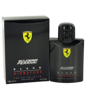 FERRARI SCUDERIA BLACK SIGNATURE EDT FOR MEN