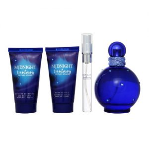 BRITNEY SPEARS MIDNIGHT FANTASY 4PCS GIFT SET