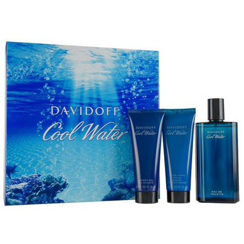 DAVIDOFF COOL WATER 3 PCS GIFT SET FOR MEN