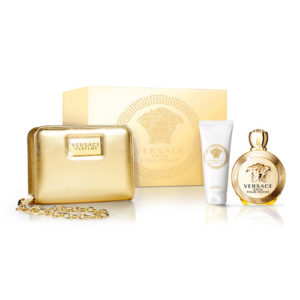 VERSACE EROS POUR FEMME 3 PCS GIFT SET FOR WOMEN