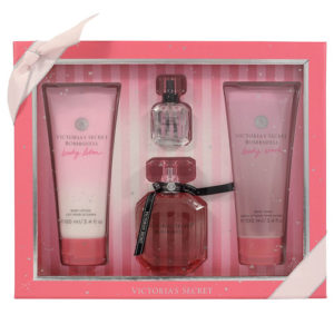 VICTORIA'S SECRET BOMBSHELL 4PCS GIFT SET FOR WOMEN