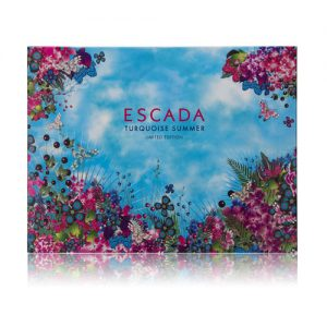 ESCADA TURQUOISE SUMMER LIMITED EDITION 3 PCS GIFT SET FOR WOMEN