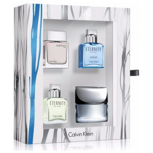 CALVIN KLEIN MINIATURE COLLECTION 4 PCS GIFT SET FOR MEN