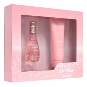 DAVIDOFF COOL WATER SEA ROSE 2 PCS GIFT SET WOMEN