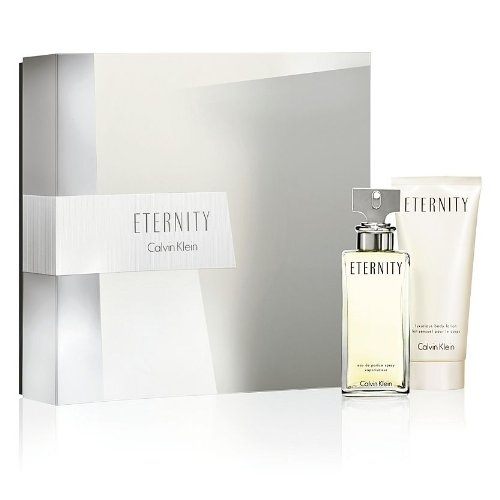 CALVIN KLEIN ETERNITY 2 PCS GIFT SET FOR WOMEN