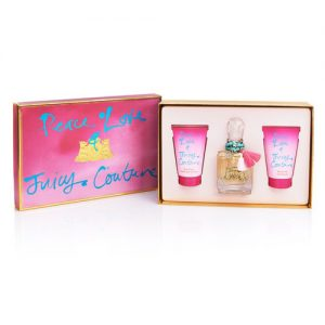 JUICY COUTURE PEACE LOVE 3 PCS GIFT SET FOR WOMEN