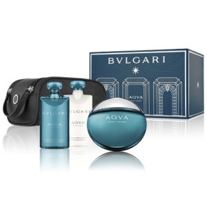 BVLGARI AQVA POUR HOMME 4 PCS GIFT SET FOR MEN