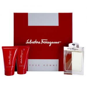 SALVATORE FERRAGAMO POUR HOMME 3 PCS GIFT SET FOR MEN