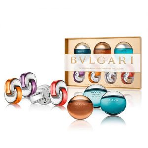 BVLGARI ICONIC MINIATURE COLLECTION SET FOR MEN AND WOMEN