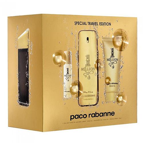 Amazon. Com: 1 million fragrance by paco rabanne 3pc travel.