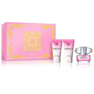 VERSACE BRIGHT CRYSTAL 3 PCS GIFT SET FOR WOMEN