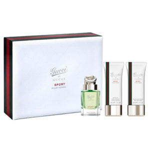 GUCCI BY GUCCI POUR HOMME SPORT 3 PCS GIFT SET FOR MEN