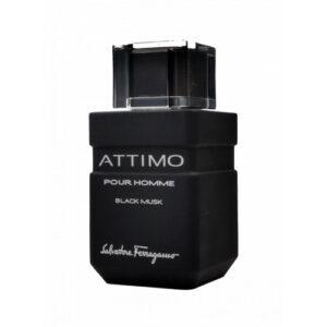 SALVATORE FERRAGAMO ATTIMO BLACK MUSK EDT FOR MEN