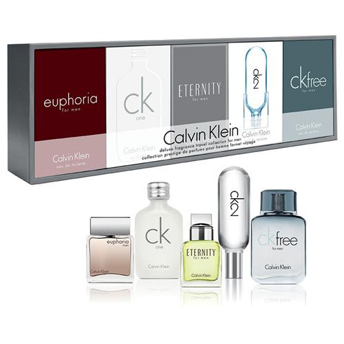 CALVIN KLEIN CK MINIATURE COLLECTION 5 PCS GIFT SET FOR MEN