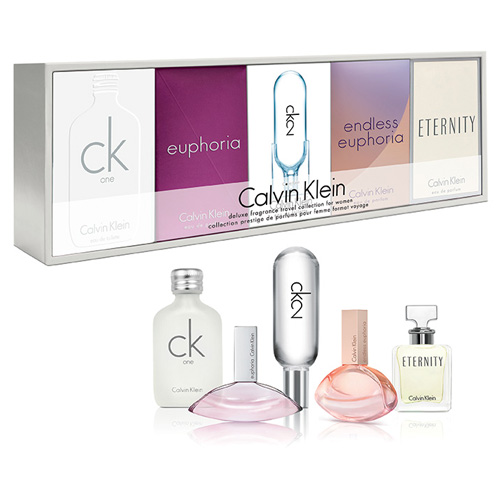 CALVIN KLEIN CK MINIATURE 5 PCS GIFT SET FOR WOMEN