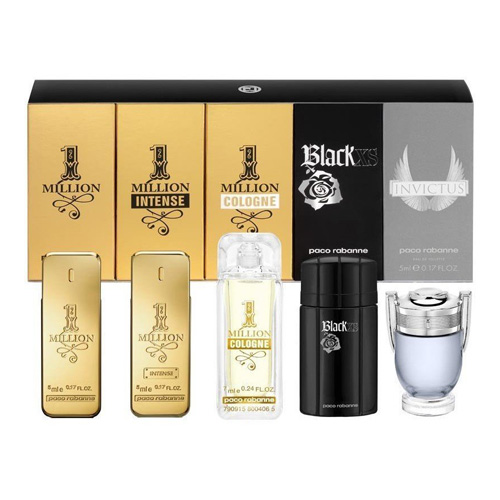 PACO RABANNE MINIATURE 5 PCS GIFT SET FOR MEN