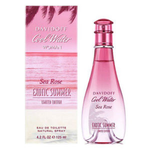 DAVIDOFF COOL WATER SEA ROSE EXOTIC SUMMER EDT FOR WOMEN