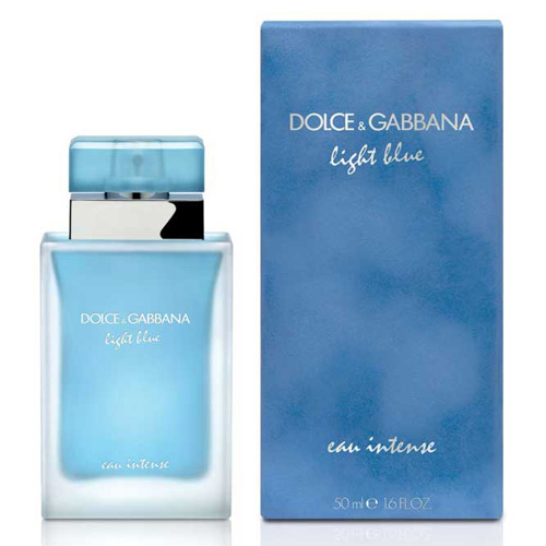 d g light blue eau intense edp for women. Black Bedroom Furniture Sets. Home Design Ideas