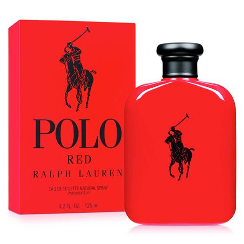 RALPH LAUREN POLO RED EDT FOR MEN