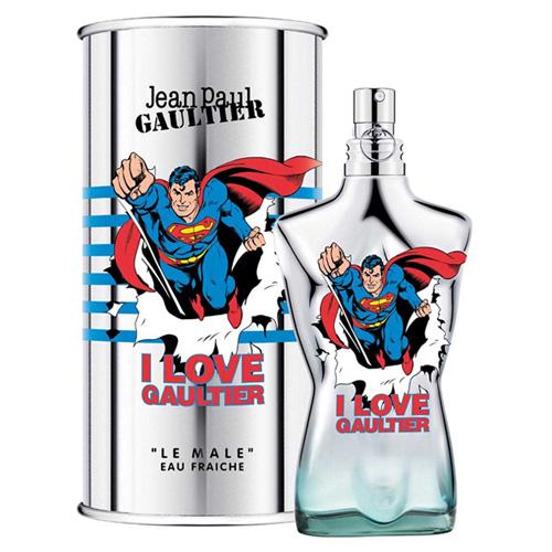 JEAN PAUL GAULTIER LE MALE SUPERMAN EAU FRAICHE EDT FOR MEN