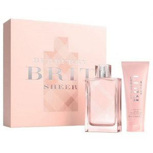 BURBERRY BRIT SHEER 2 PCS GIFT SET FOR WOMEN