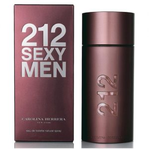 CAROLINA HERRERA 212 SEXY EDT FOR MEN
