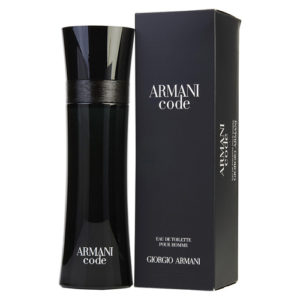 GIORGIO ARMANI CODE EDT FOR MEN