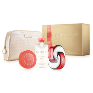 BVLGARI OMNIA CORAL 4 PCS GIFT SET FOR WOMEN