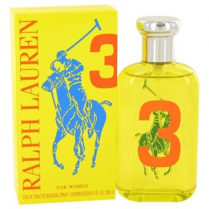 RALPH LAUREN BIG PONY YELLOW 3 EDT FOR WOMEN