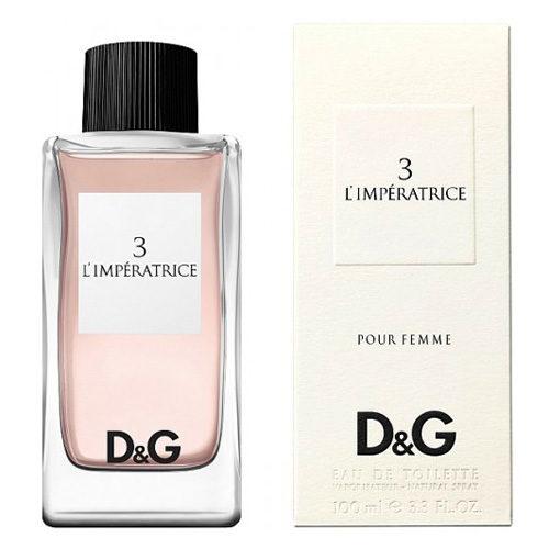 D&G 3 L'IMPERATRICE POUR FEMME EDT FOR WOMEN