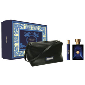 VERSACE POUR HOMME DYLAN BLUE 3 PCS GIFT SET FOR MEN
