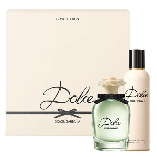 D&G DOLCE 2 PCS TRAVEL EDITION SET FOR WOMEN