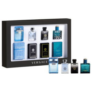 VERSACE MINIATURES COLLECTION 4 PCS GIFT SET FOR MEN