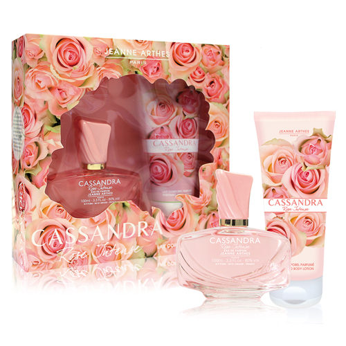 JEANNE ARTHES CASSANDRA ROSE INTENSE 2 PCS GIFT SET FOR WOMEN