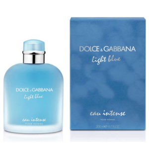 D&G LIGHT BLUE EAU INTENSE EDP FOR MEN