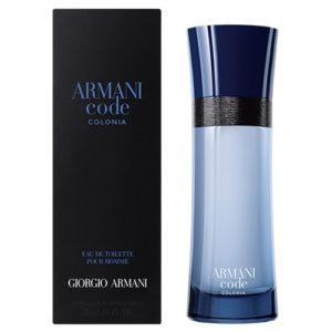 GIORGIO ARMANI CODE COLONIA EDT FOR MEN