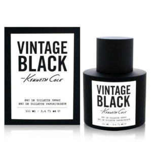 KENNETH COLE VINTAGE BLACK EDT FOR MEN