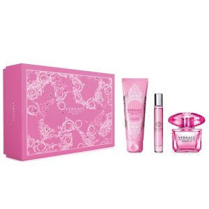 VERSACE BRIGHT CRYSTAL ABSOLU 3 PCS DULUXE GIFT SET FOR WOMEN