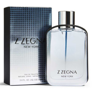 ERMENEGILDO ZEGNA Z ZEGNA NEW YORK EDT FOR MEN