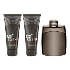 MONT BLANC LEGEND INTENSE 3 PCS GIFT SET FOR MEN