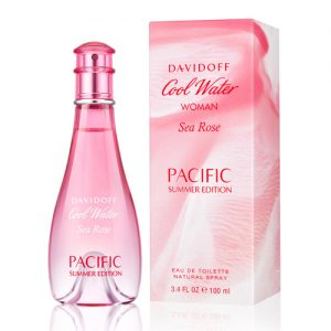 DAVIDOFF COOL WATER SEA ROSE PACIFIC SUMMER EDT FOR WOMEN