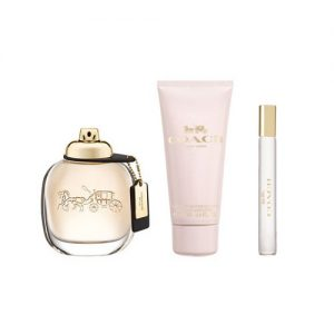 COACH NEW YORK 3 PCS GIFT SET FOR WOMEN