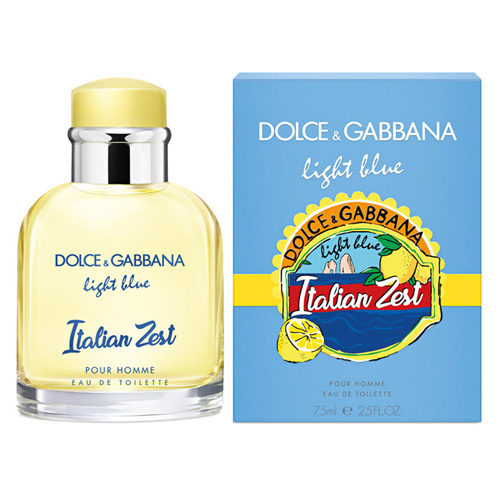 D&G LIGHT BLUE ITALIAN ZEST EDT FOR MEN