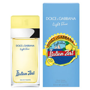 D&G LIGHT BLUE ITALIAN ZEST EDT FOR WOMEN