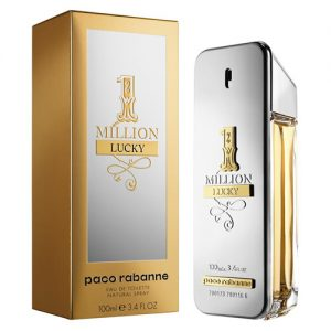 PACO RABANNE 1 MILLION LUCKY EDT FOR MEN
