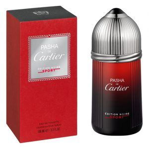 CARTIER PASHA DE CARTIER EDITION NOIRE SPORT EDT FOR MEN