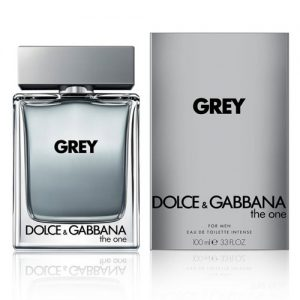 D&G GREY THE ONE EDT INTENSE FOR MEN