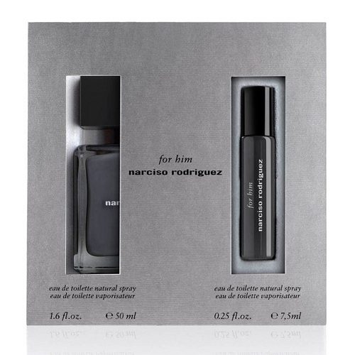 NARCISO RODRIGUEZ 2 PCS TRAVEL SET EDT FOR MEN