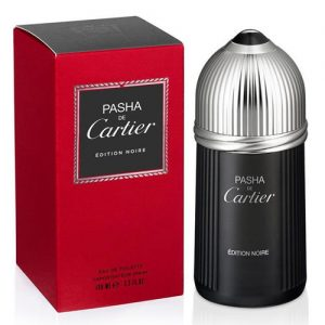 CARTIER PASHA DE CARTIER EDITION NOIRE EDT FOR MEN