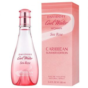 DAVIDOFF COOL WATER SEA ROSE CARIBBEAN SUMMER EDT FOR WOMEN